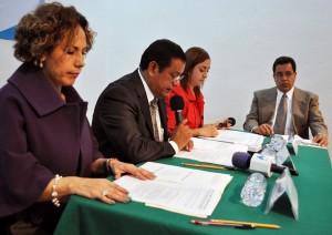 3 Consejeras, Consejero y Secretario de Acuerdos