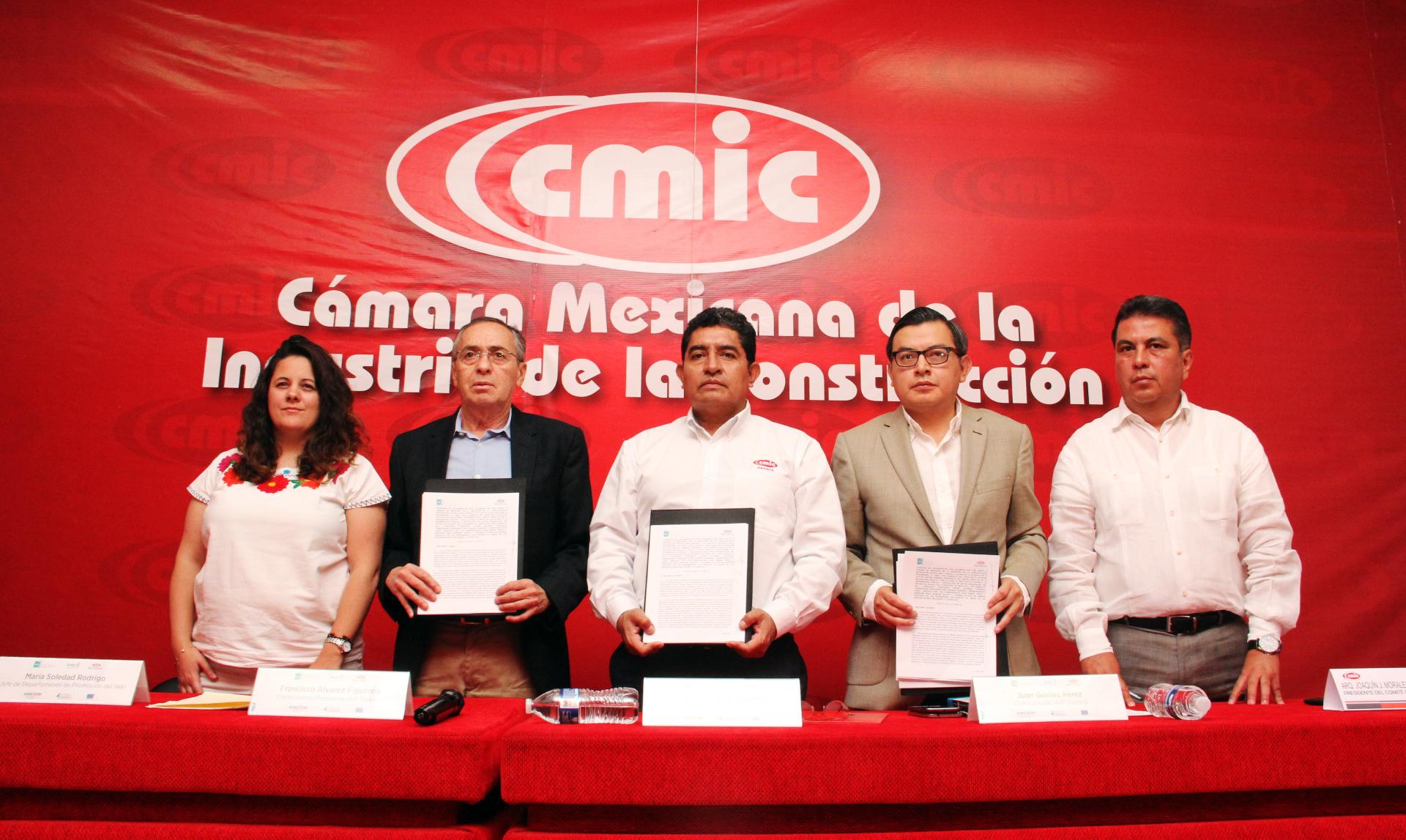 SIGNA IAIPO Y CMIC OAXACA CONVENIO DE COLABORACIÓN