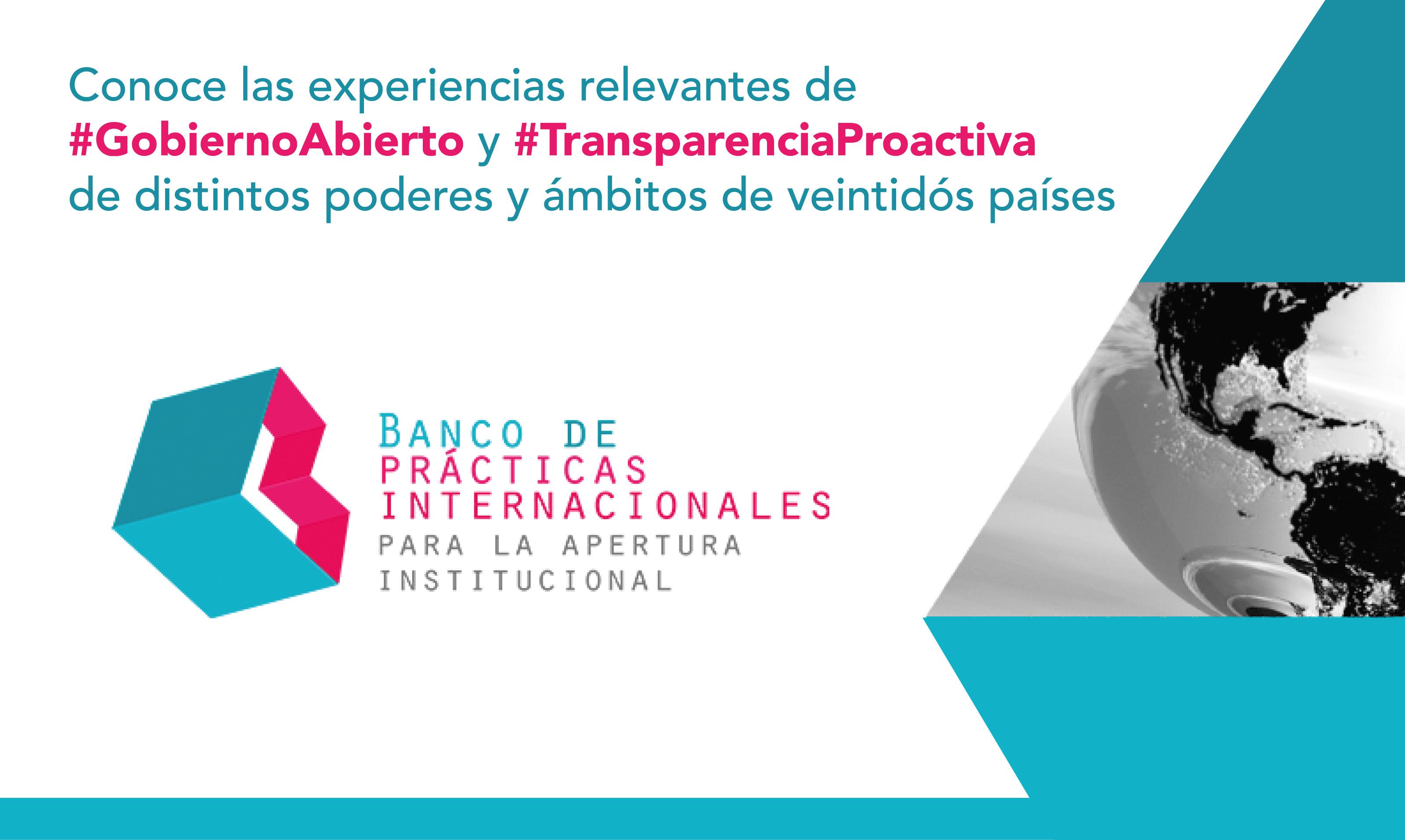 PRESENTA INAI BANCO DE PRÁCTICAS DE APERTURA INSTITUCIONAL