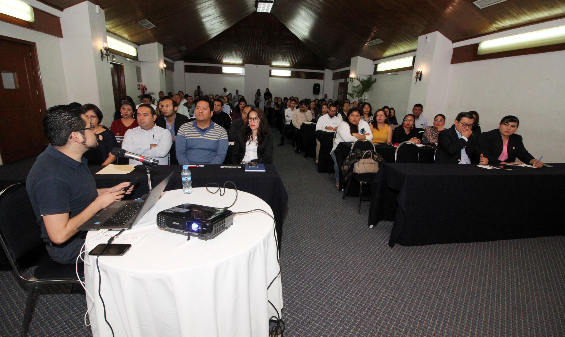 CAPACITA IAIPO A SERVIDORES PÚBLICOS SOBRE NUEVO MÓDULO DE LA PLATAFORMA NACIONAL DE TRANSPARENCIA